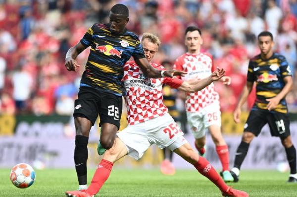 Mainz beat Leipzig 1-0 to defeat the Bundesliga